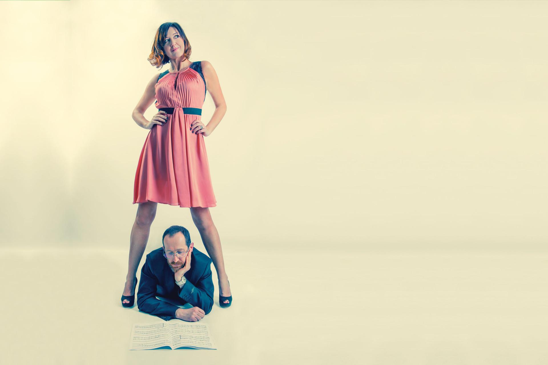 Letizia Brugnoli - Cantante e Roberto Sansuini - Musicista, compositore